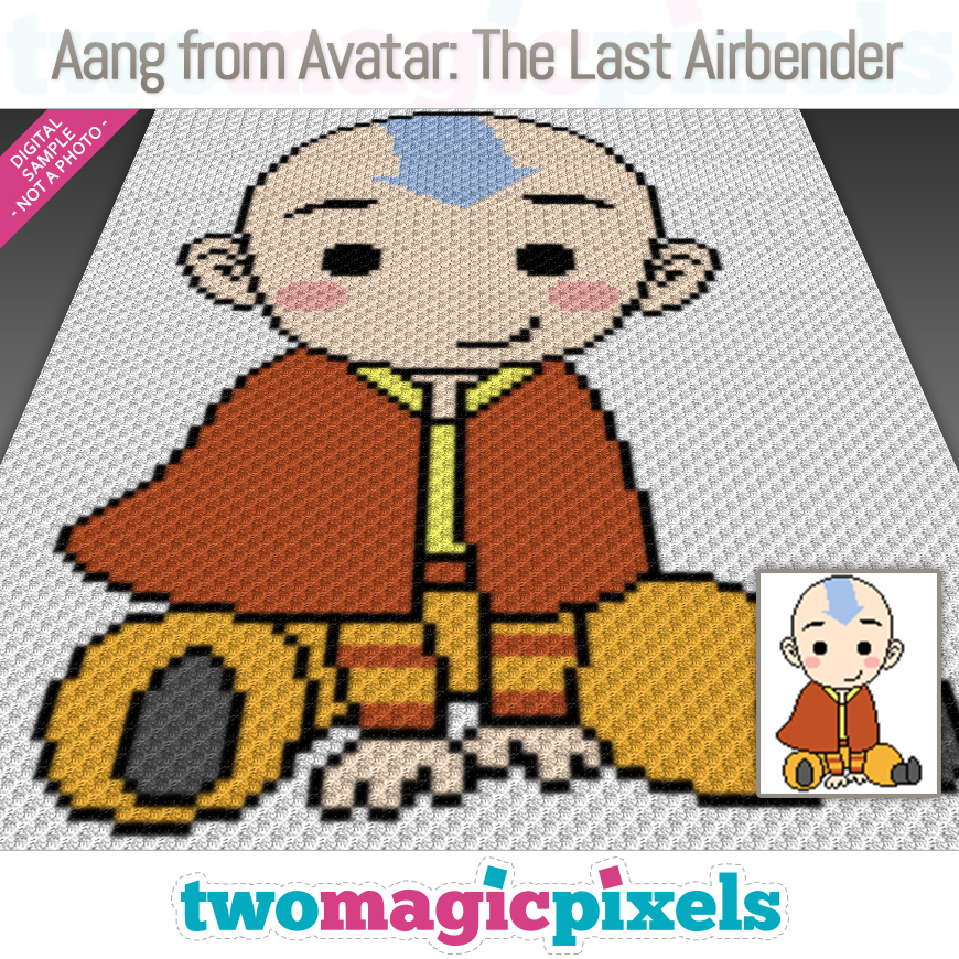 Aang from Avatar: The Last Airbender by Two Magic Pixels