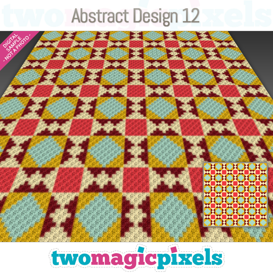 Abstract Design 12 by Two Magic Pixels