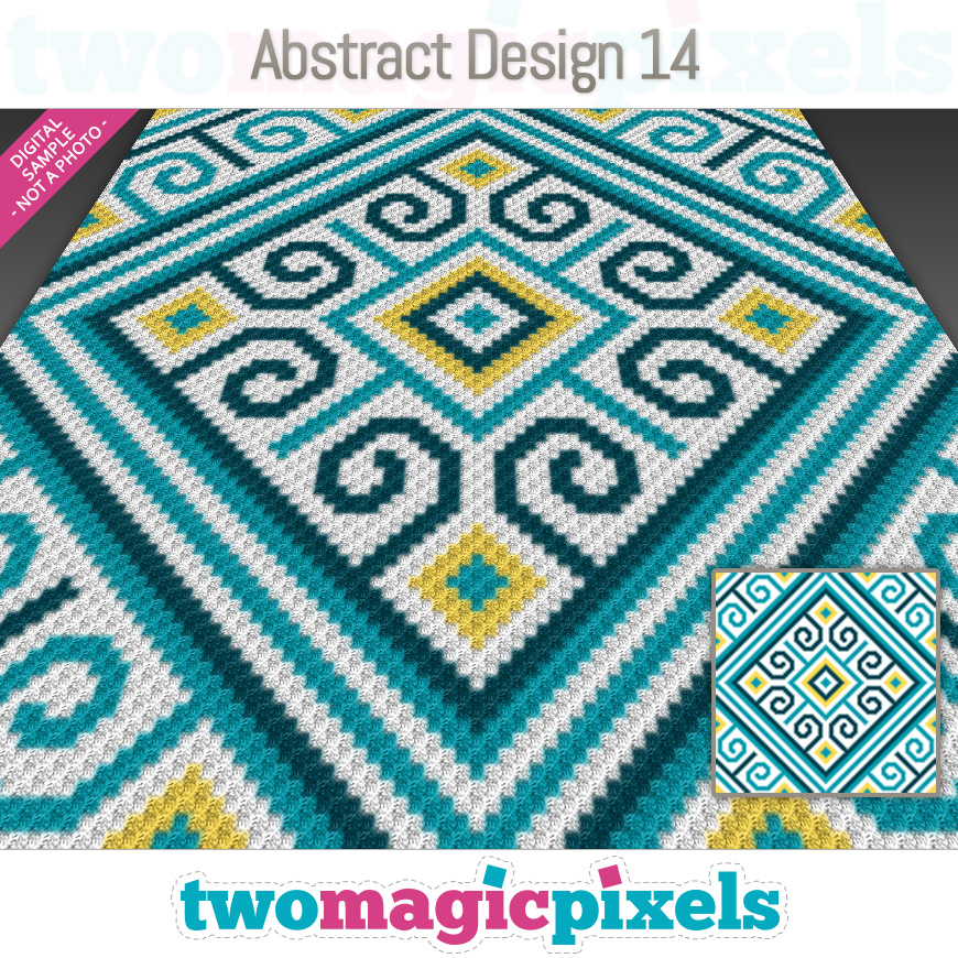 Abstract Design 14 by Two Magic Pixels