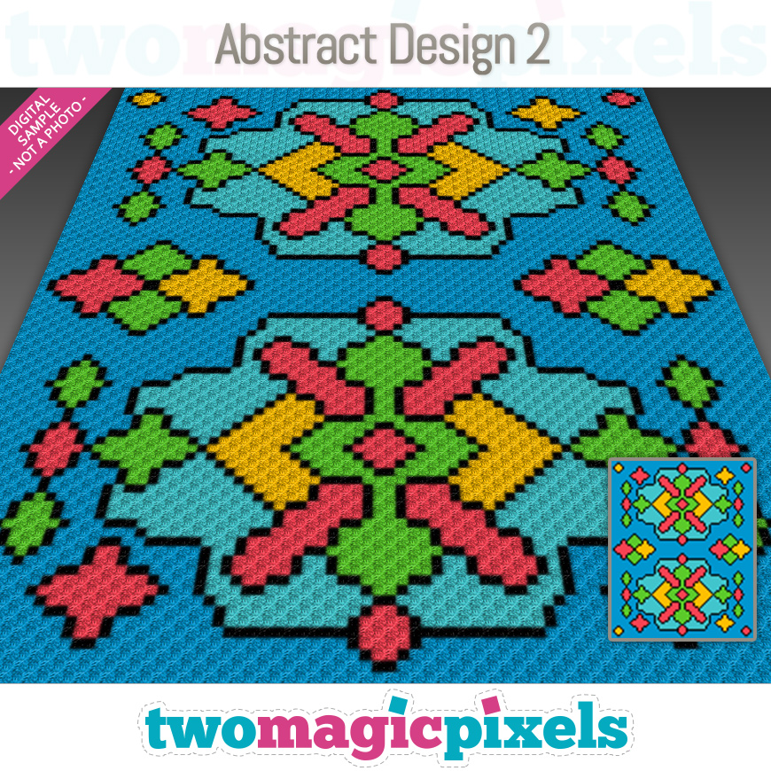 Abstract Design 2 by Two Magic Pixels