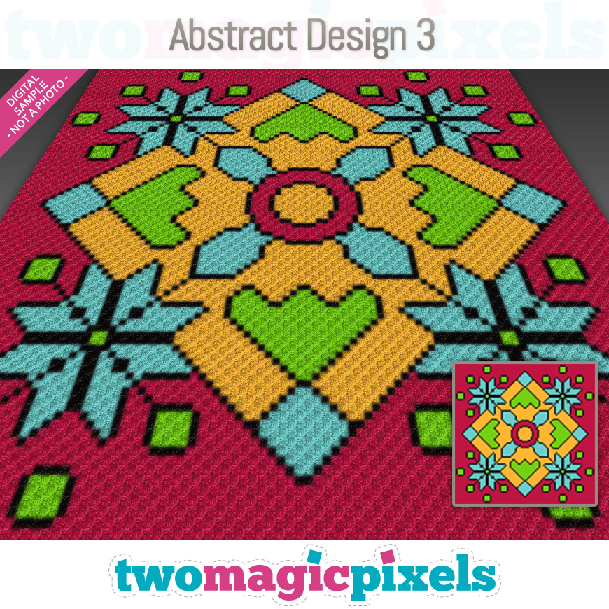 Abstract Design 3 by Two Magic Pixels