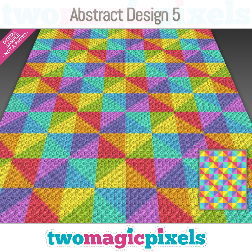 Abstract Design 5 by Two Magic Pixels