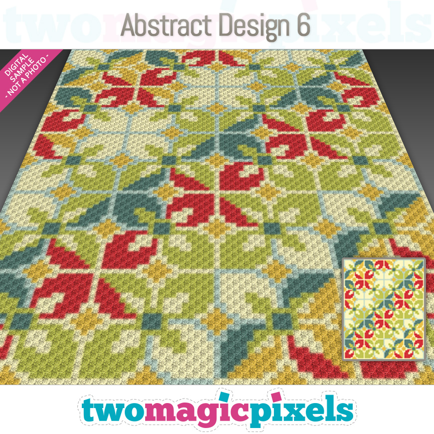 Abstract Design 6 by Two Magic Pixels