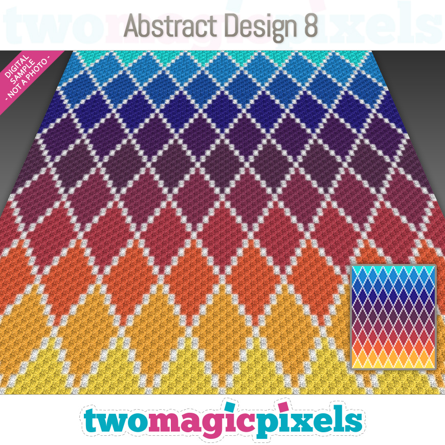 Abstract Design 8 by Two Magic Pixels