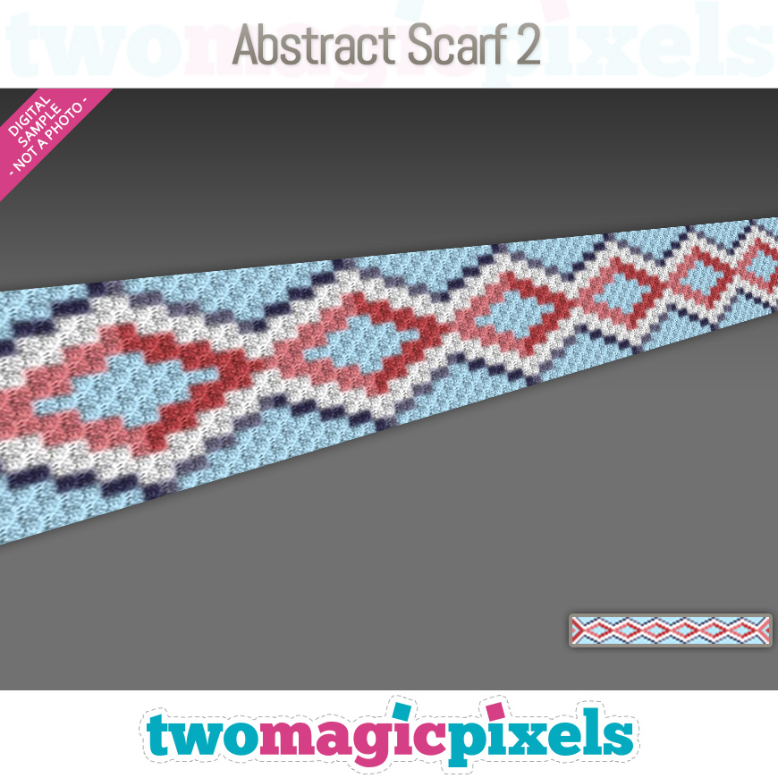 Abstract Scarf 2 by Two Magic Pixels