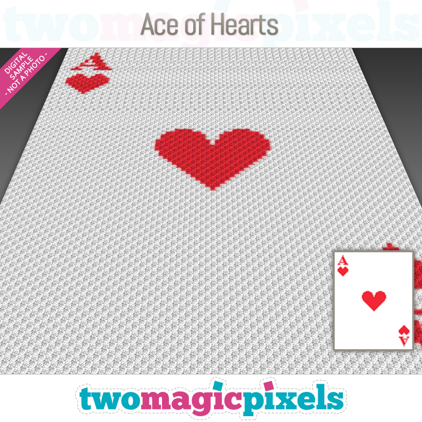 Ace of Hearts by Two Magic Pixels