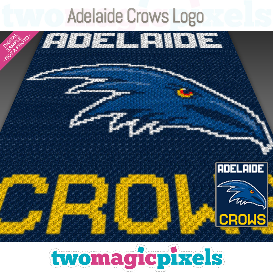 Adelaide Crows Logo by Two Magic Pixels