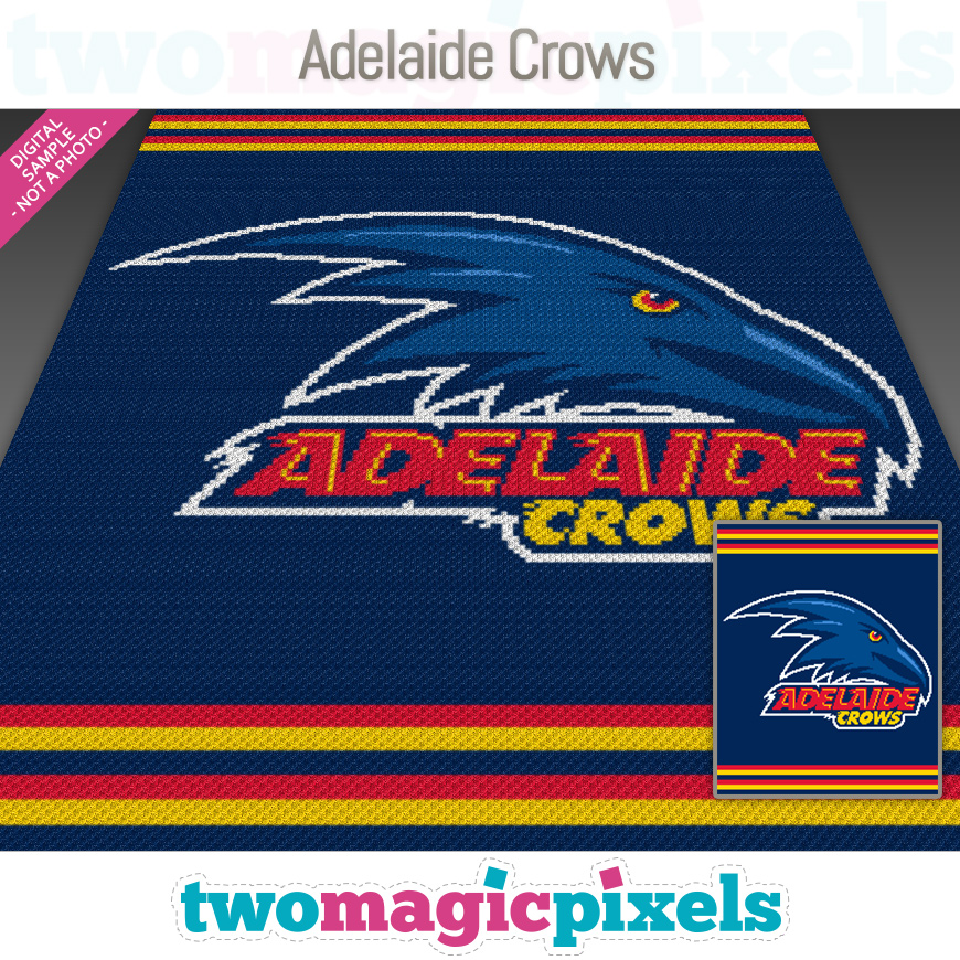 Adelaide Crows by Two Magic Pixels