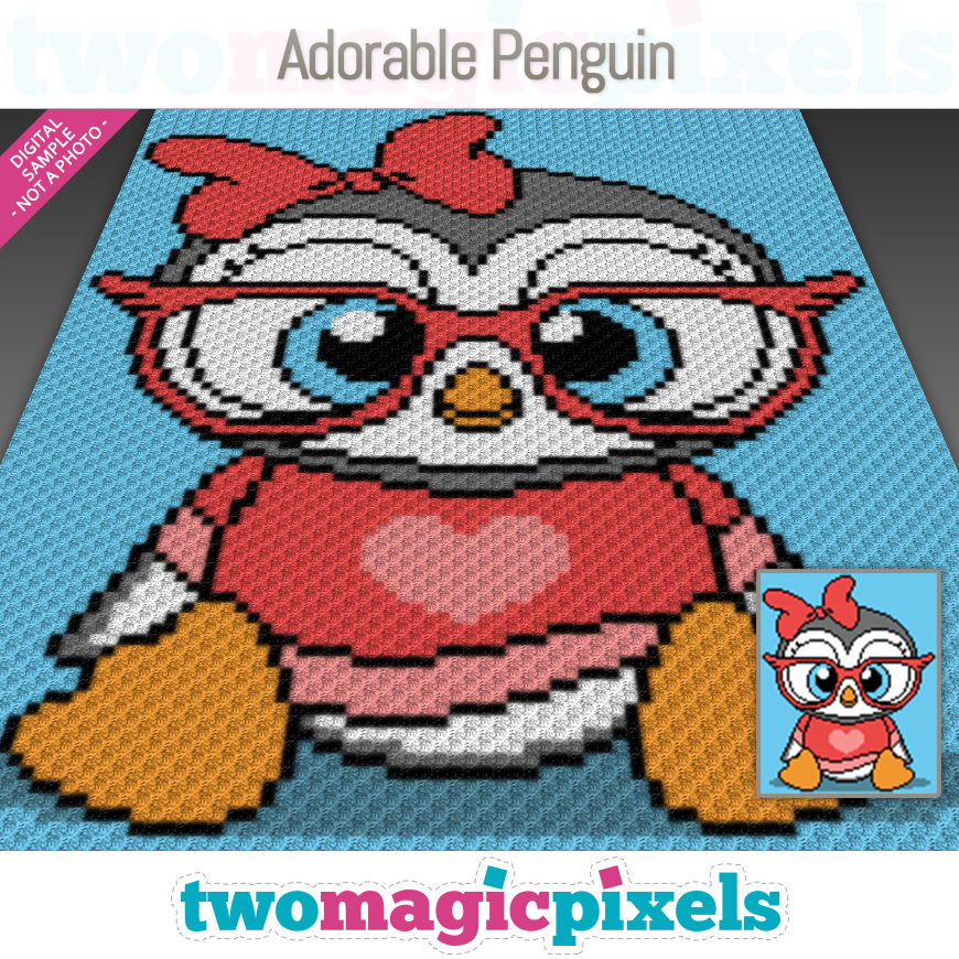 Adorable Penguin by Two Magic Pixels