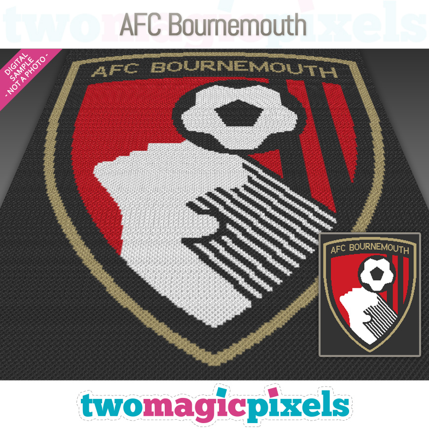 AFC Bournemouth by Two Magic Pixels