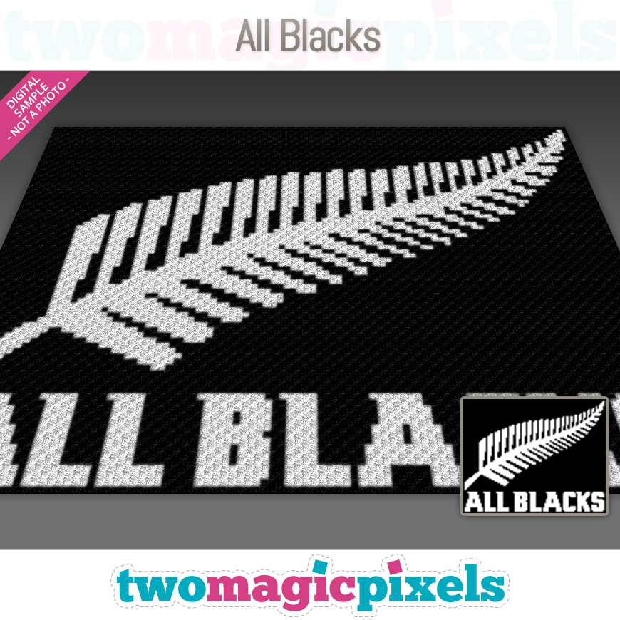 All Blacks by Two Magic Pixels