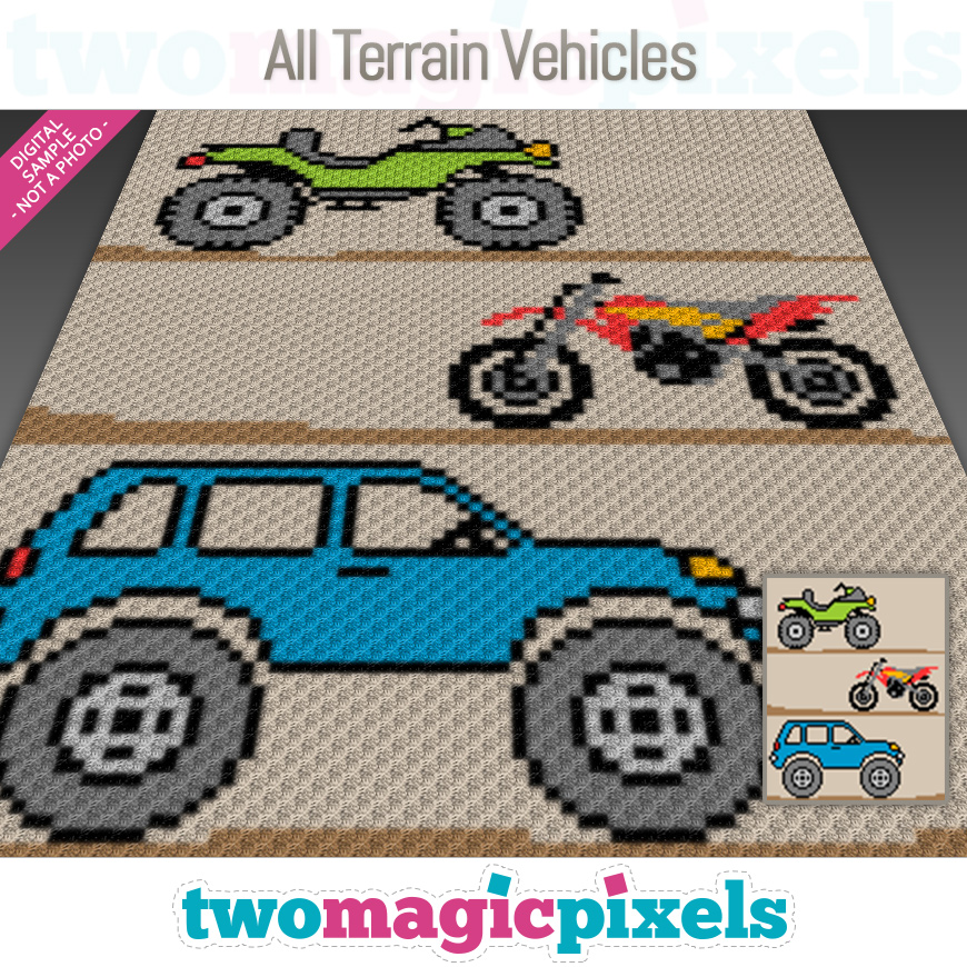 All Terrain Vehicles by Two Magic Pixels