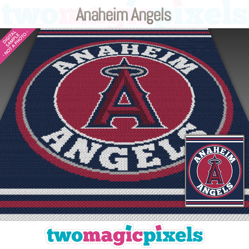 Anaheim Angels by Two Magic Pixels