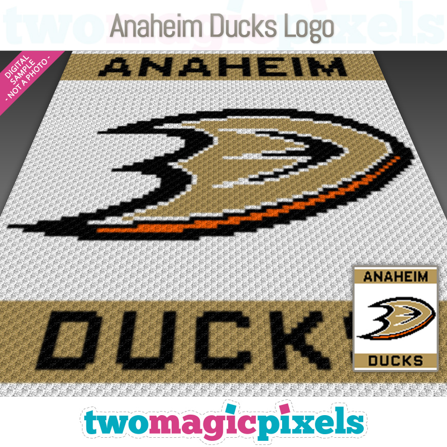 Anaheim Ducks Logo by Two Magic Pixels
