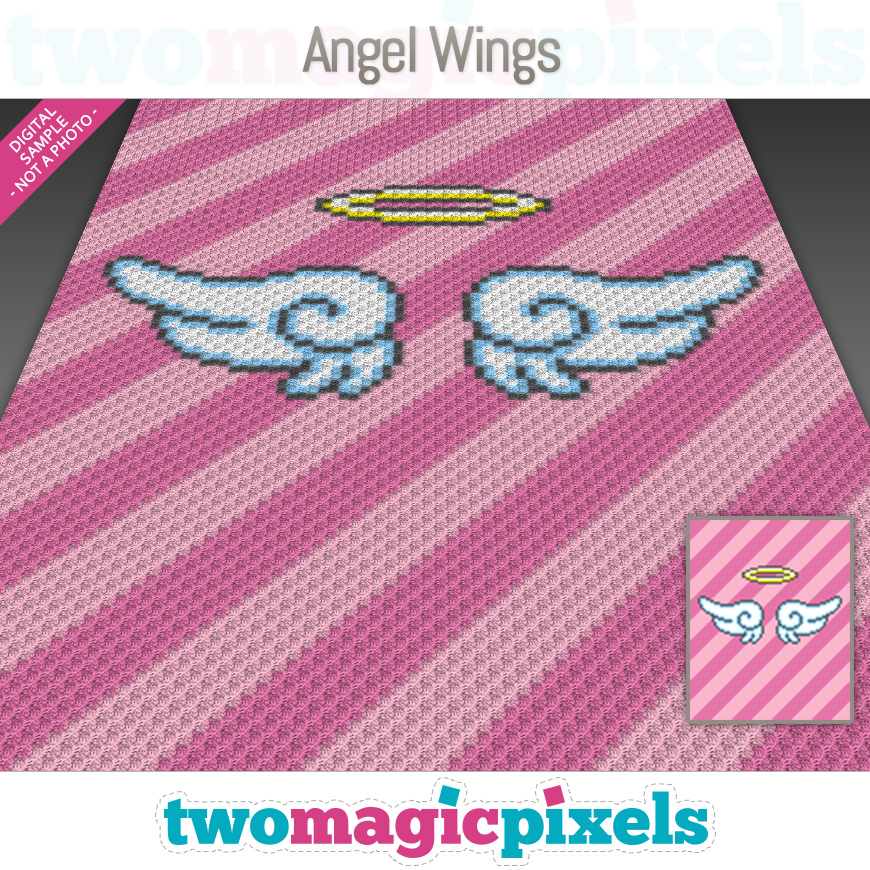 Angel Wings by Two Magic Pixels