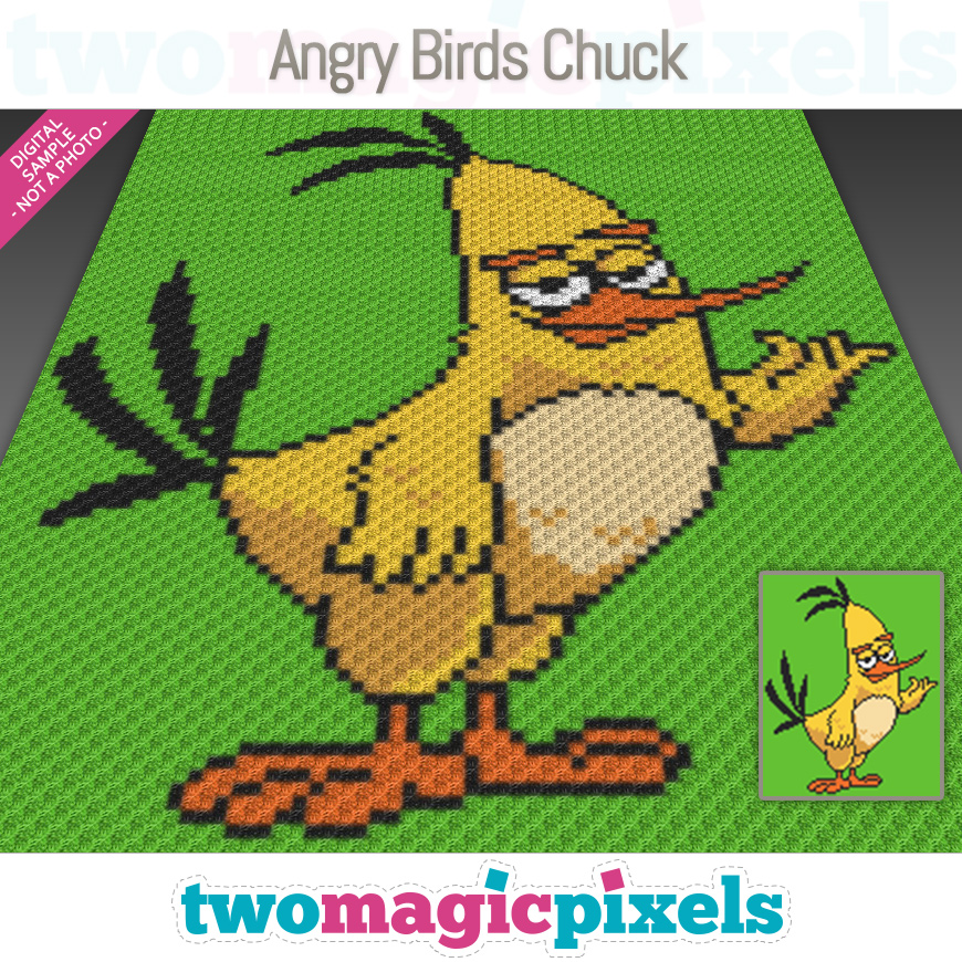 Angry Birds Chuck by Two Magic Pixels