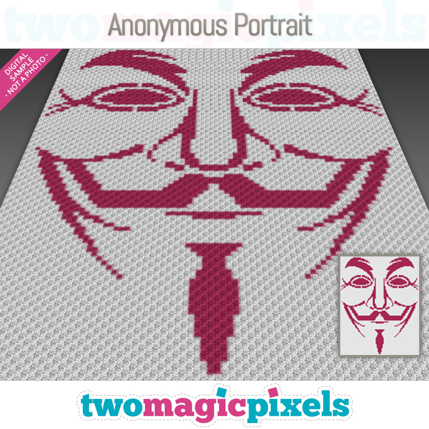 Anonymous Portrait by Two Magic Pixels