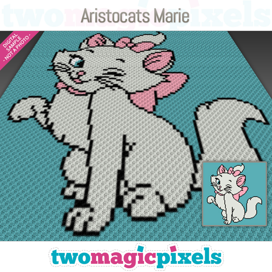 Aristocats Marie by Two Magic Pixels