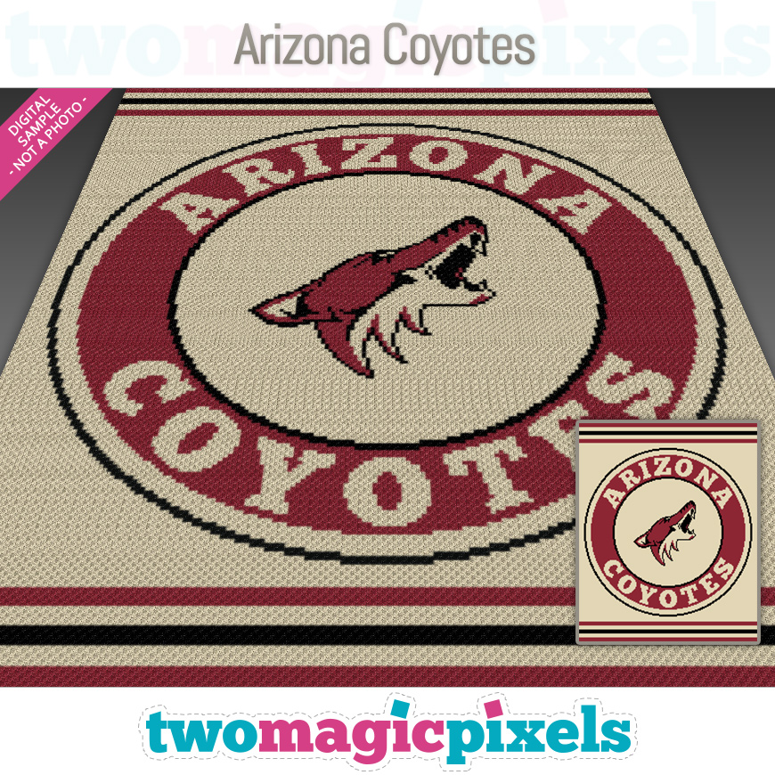 Arizona Coyotes by Two Magic Pixels