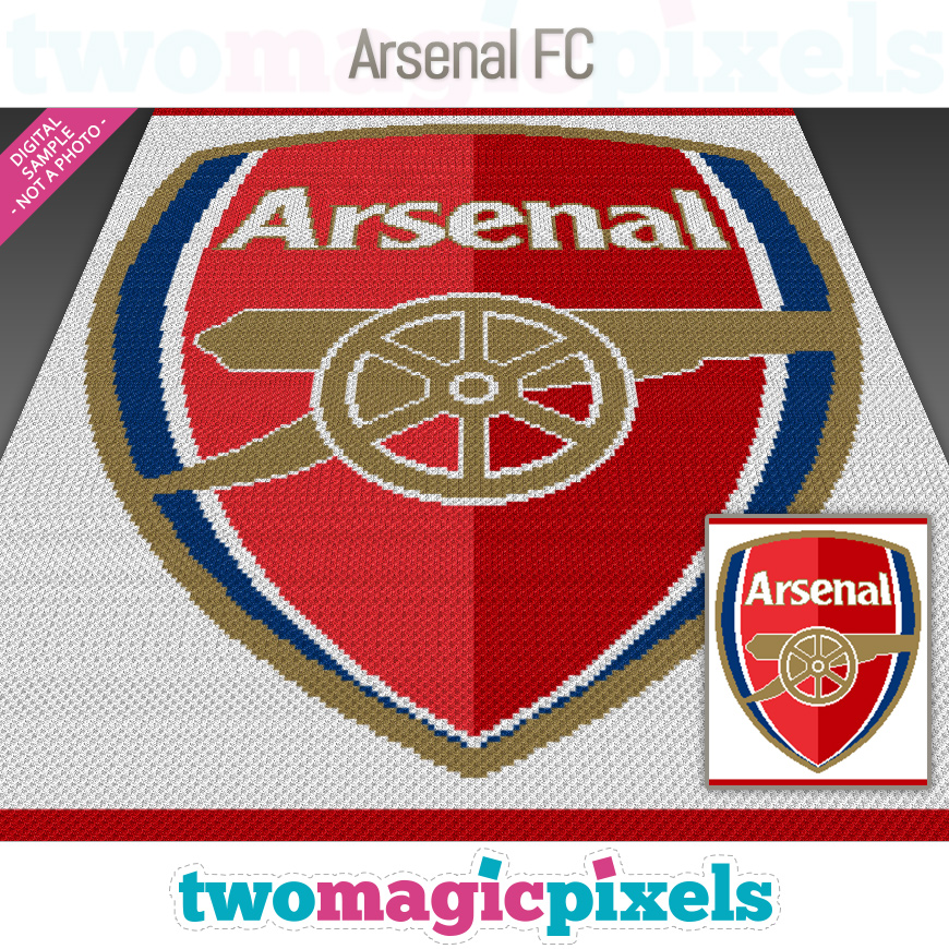 Arsenal FC by Two Magic Pixels