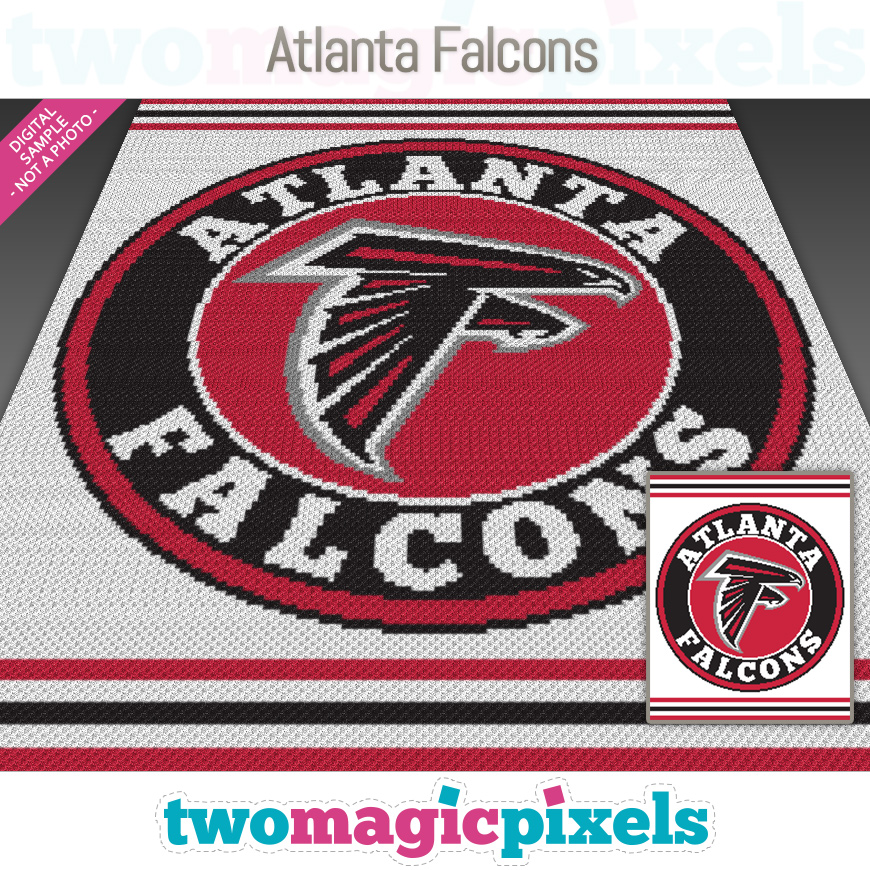 Atlanta Falcons by Two Magic Pixels
