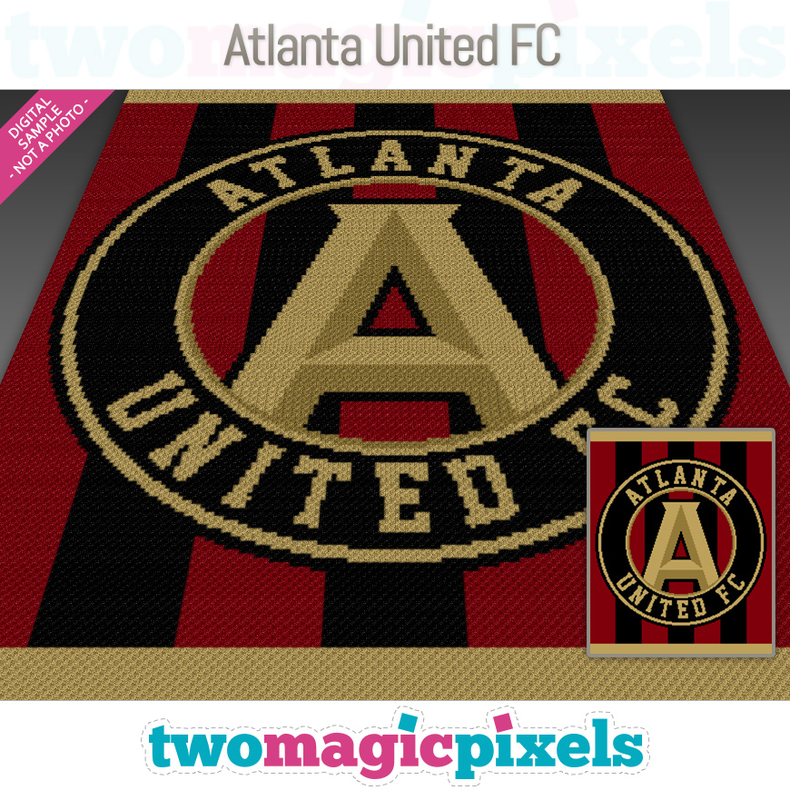 Atlanta United FC by Two Magic Pixels
