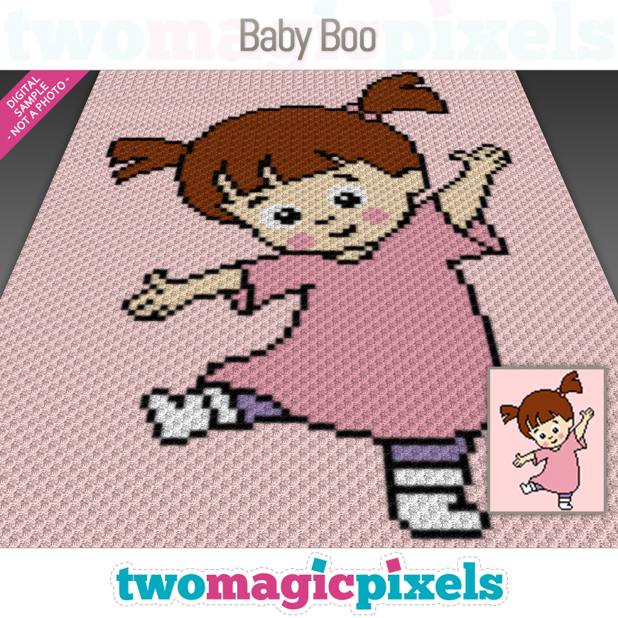 Baby Boo by Two Magic Pixels