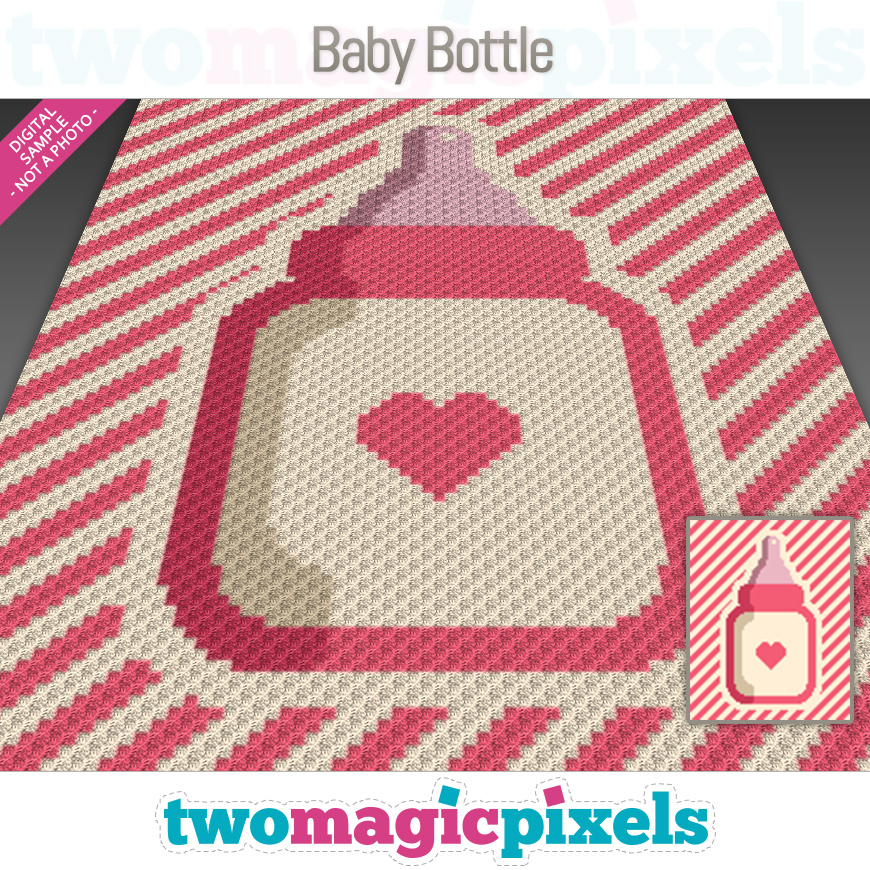 Baby Bottle by Two Magic Pixels