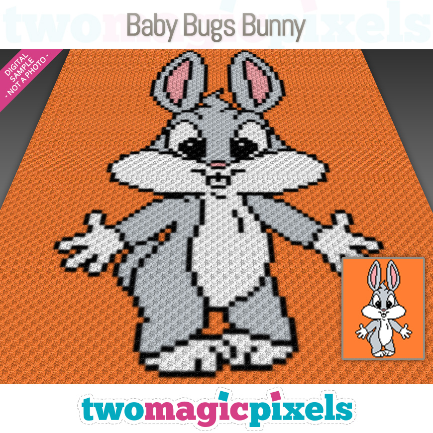 Baby Bugs Bunny by Two Magic Pixels