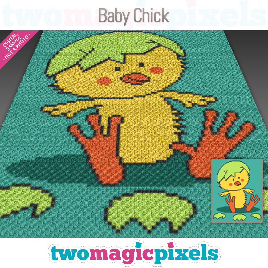 Baby Chick by Two Magic Pixels