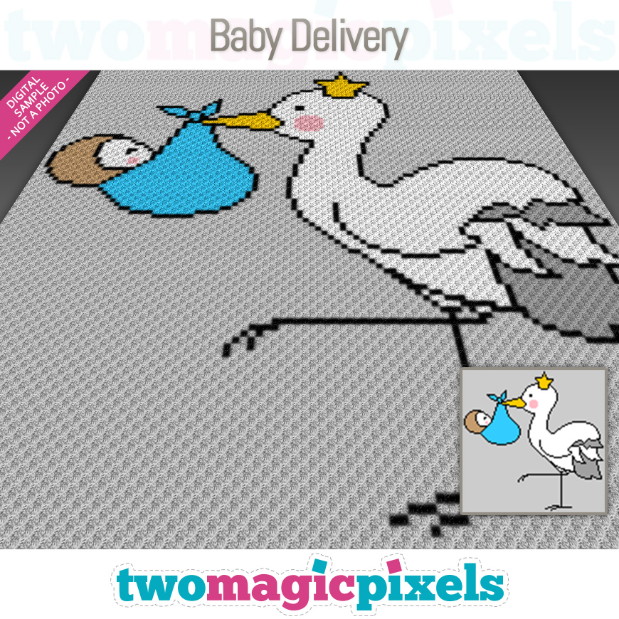 Baby Delivery by Two Magic Pixels