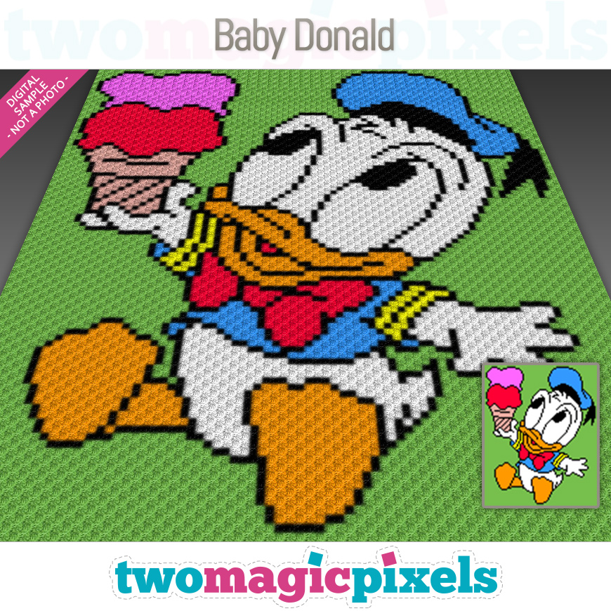 Baby Donald by Two Magic Pixels
