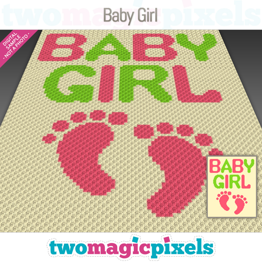 Baby Girl by Two Magic Pixels
