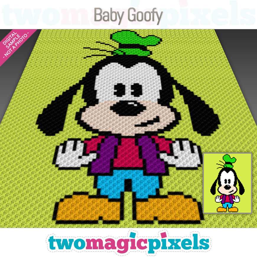 Baby Goofy by Two Magic Pixels