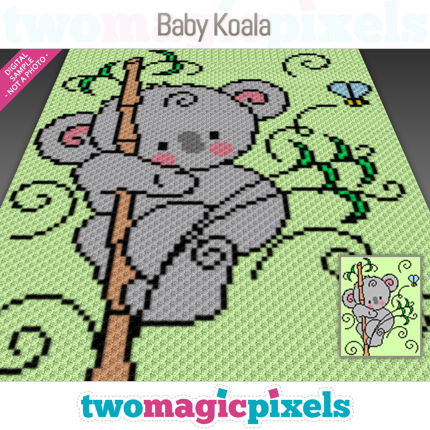 Baby Koala by Two Magic Pixels