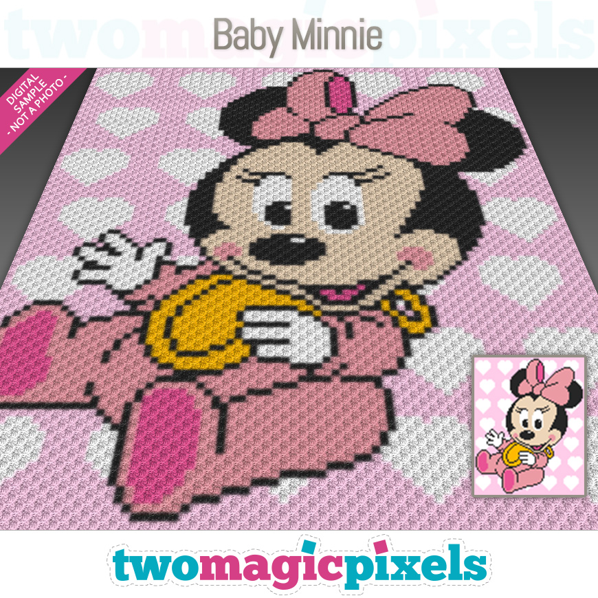 Baby Minnie by Two Magic Pixels