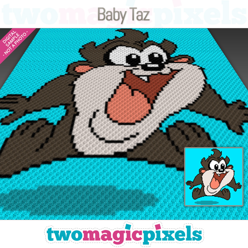 Baby Taz by Two Magic Pixels