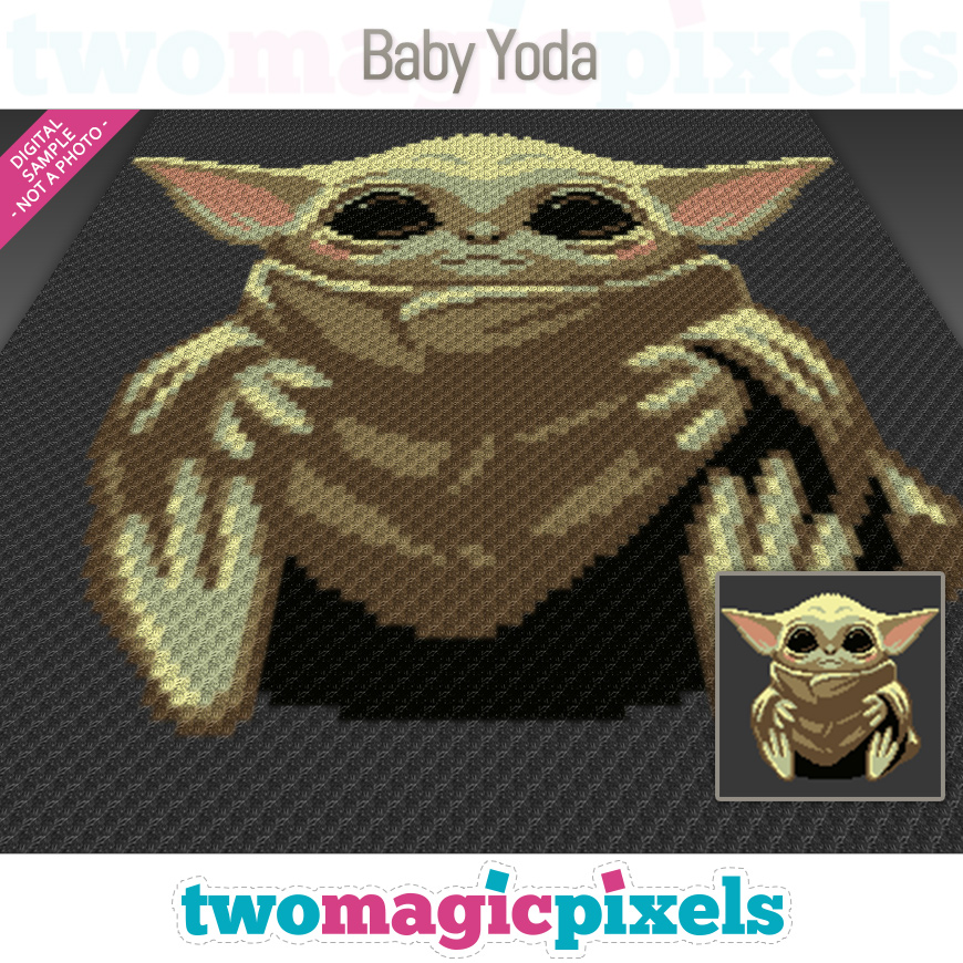 Baby Yoda by Two Magic Pixels