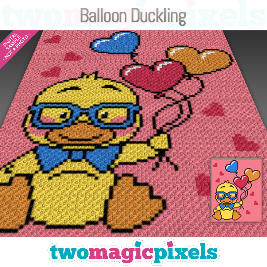 Balloon Duckling by Two Magic Pixels