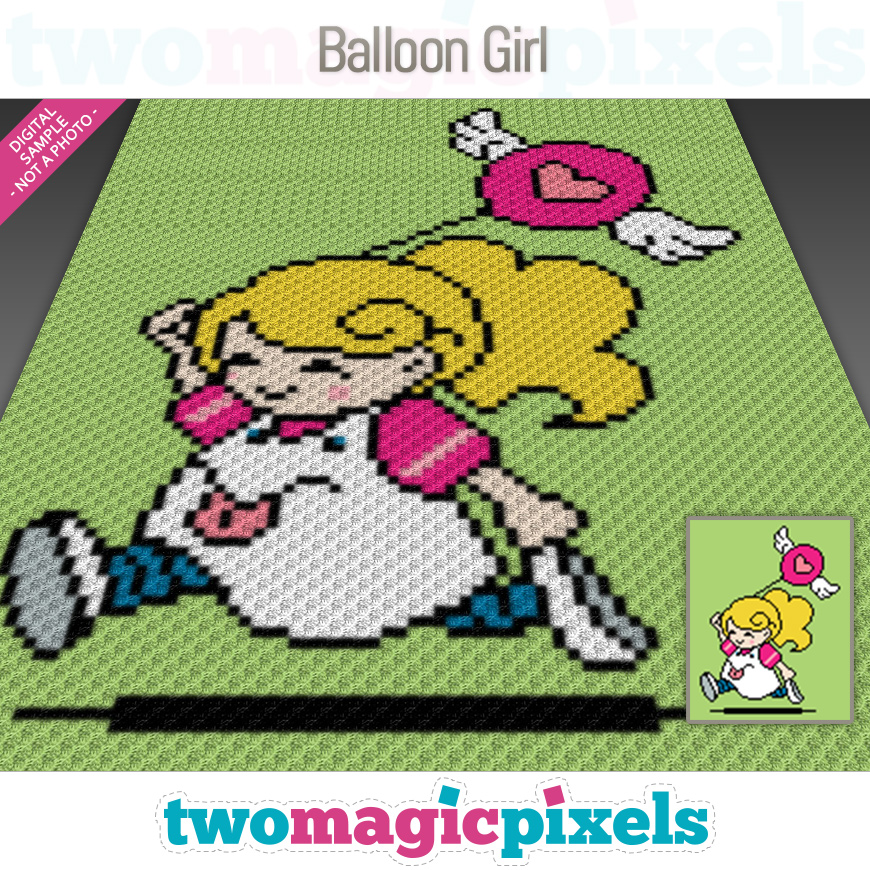 Balloon Girl by Two Magic Pixels