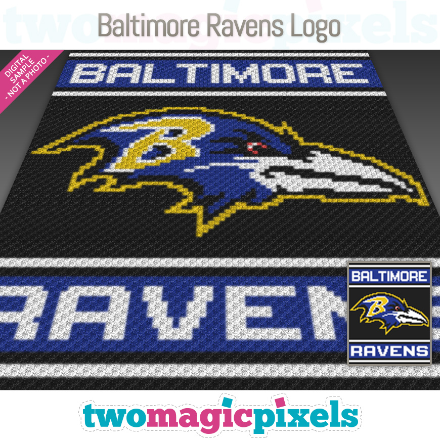 Baltimore Ravens Logo by Two Magic Pixels