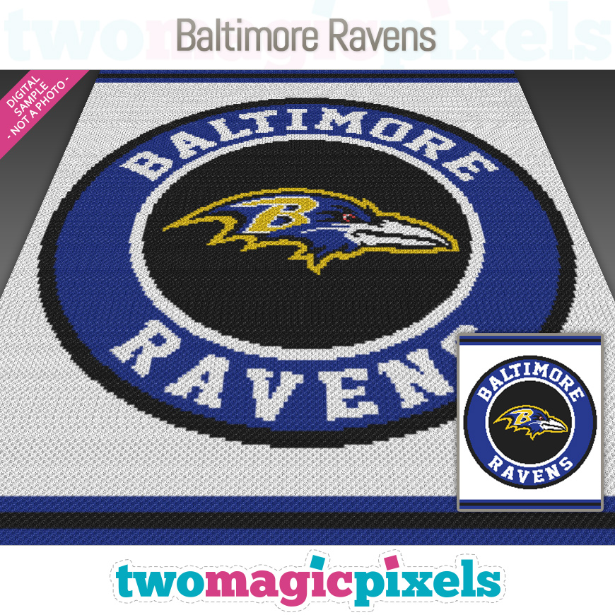 Baltimore Ravens by Two Magic Pixels
