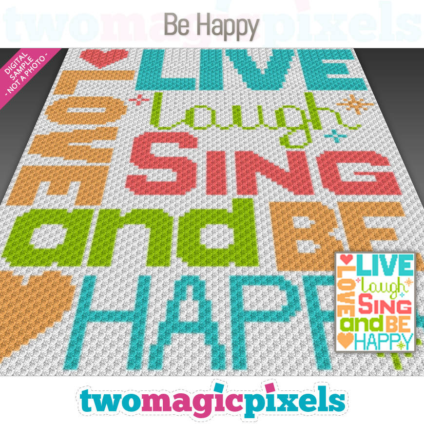 Be Happy by Two Magic Pixels