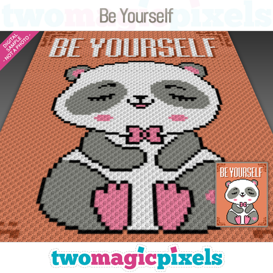 Be Yourself by Two Magic Pixels