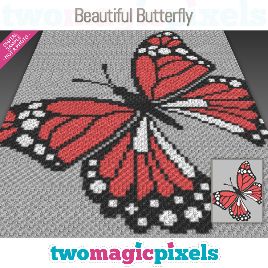 Beautiful Butterfly by Two Magic Pixels