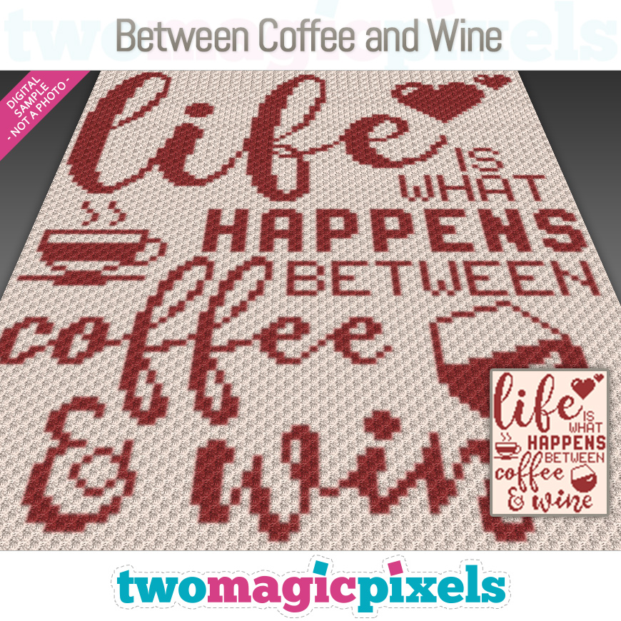 Between Coffee and Wine by Two Magic Pixels