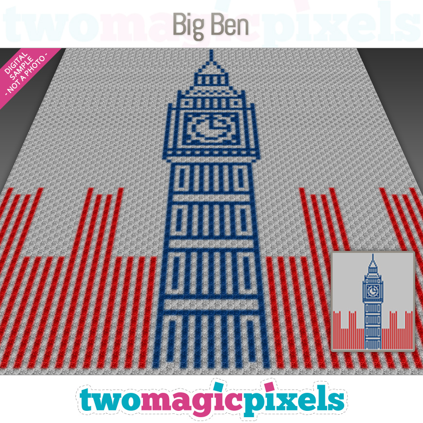 Big Ben by Two Magic Pixels