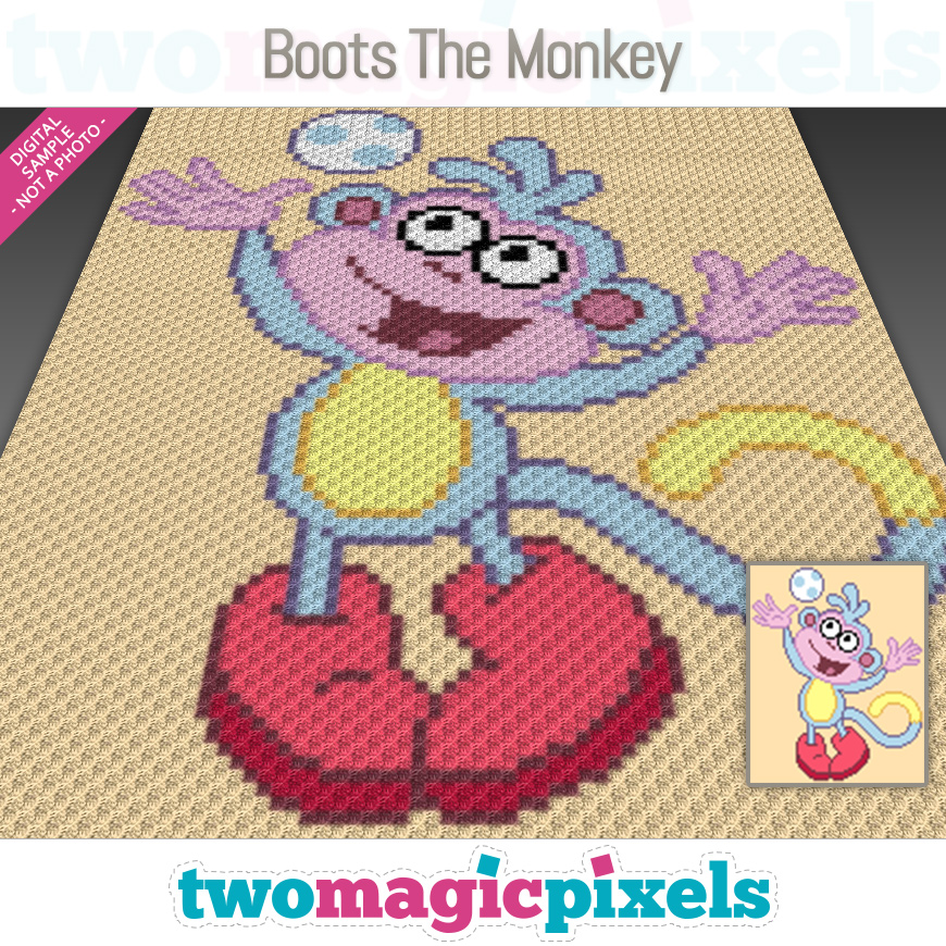 Boots the Monkey by Two Magic Pixels