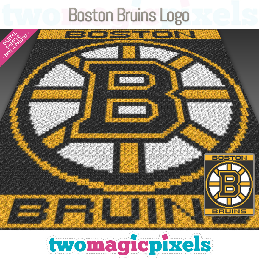 Boston Bruins Logo by Two Magic Pixels