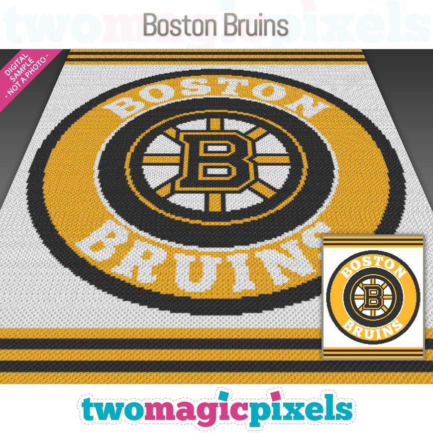 Boston Bruins by Two Magic Pixels
